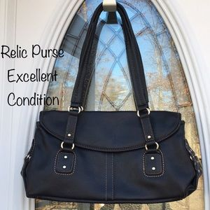 Black Purse Bu Relic/ Great Shape/See Photos